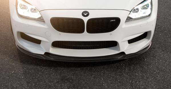Vorsteiner 6004BMV |  BMW F12 M6 VRS GTS-V Aero Performance Front Spoiler Carbon Fiber PP 1x1 Glossy; 2012-2017