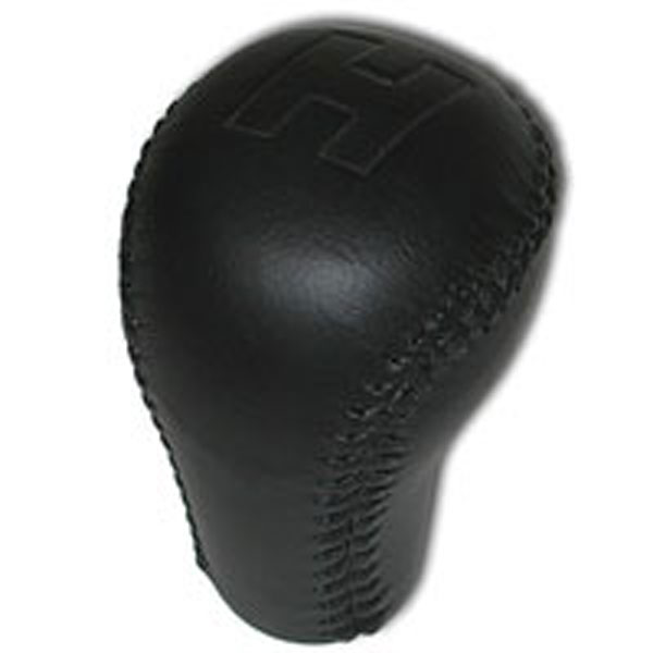 SLP Performance 60081: SLP Knob Leather Wrapped H Hurst Logo Black 1984-02 5-Speed/6-Speed Shifter Firebird V8