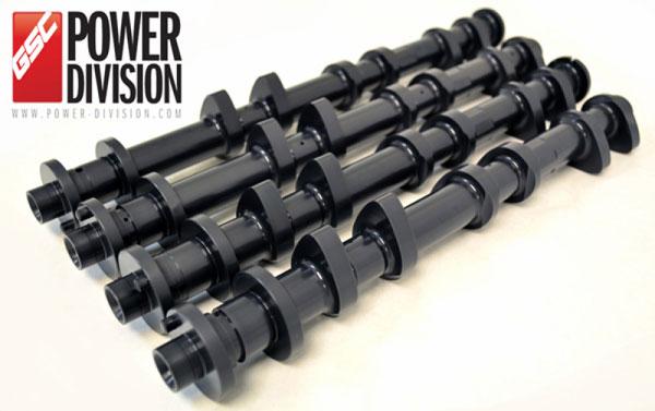 GSC Power Division 7045s3 | GSC P-D Nissan VR38DETT S3 Cams 280/280 Billet
