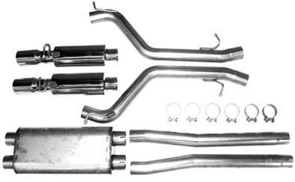 Bassani 616MAG5 |  SRT-8 AftCat Exhaust System; 2005-2010