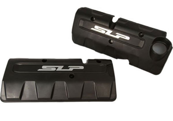 SLP Performance 620038 | SLP Camaro Engine Coil Covers for Superchargers and Non-Supercharged SS and 1LE Motors; 2010-2014