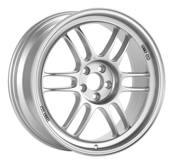 Enkei 3794704919sp | RPF1 14x7 4x100 19mm Offset 54mm Bore Silver Wheel