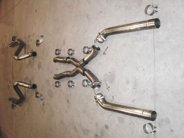 Stainless Works 68723976 |  Chevy Monte Carlo Small/Big Block 1968-72 Exhaust 3'' System w/X-pipe - No Mufflers