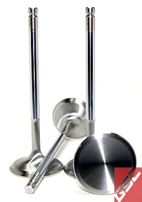 GSC Power Division b2012-50 | GSC P-D Subaru EJ205/EJ207/EJ257 Chrome Polished Intake Valve - 36mm Head (STD) - Set of 50