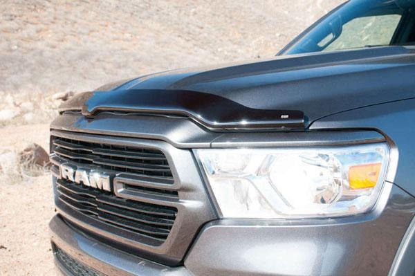 EGR 302951wb   2019 Dodge Ram 1500 Superguard Hood Shield - Dark Smoke; 2019-2019