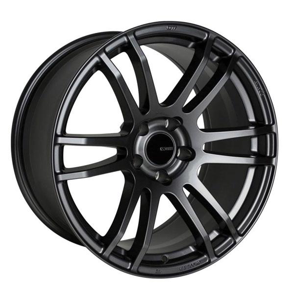 Enkei 486-780-8045gm | TSP6 17x8 45mm Offset 5x100 Bolt Pattern Gunmetal Wheel