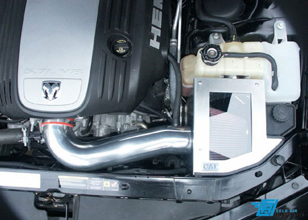 Cold Air Inductions 701-3942 |  5.7L & 6.1L Charger, Challenger, Magnum, 300C Cold Air Intake System; 2005-2010