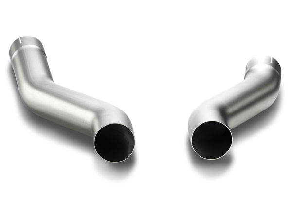 Akrapovic L-PO/T/4 |  Porsche Cayenne S Hybrid (958) Link pipe S Version (Titanium), 2010-2013