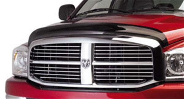 EGR 302551wb   06+ Dodge F/S Pickup Superguard Hood Shield (302551); 2006-2020