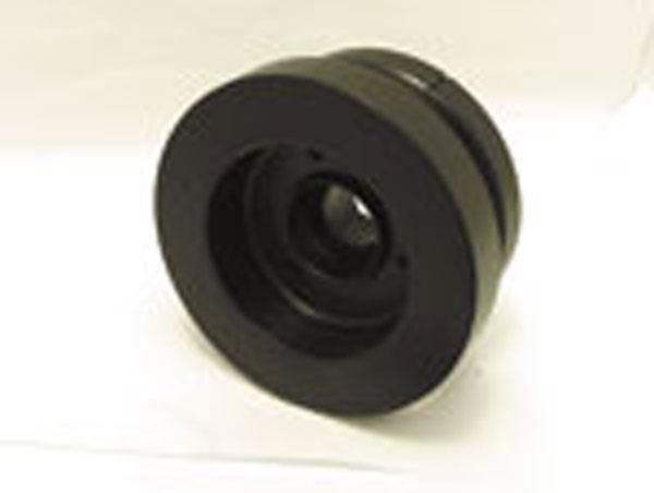 Fluidampr 720211 | Ford PowerStroke 7.3L Late Pulley External Balance Black Zinc Finish 7 1/4in Diam lbs; 1999-2003