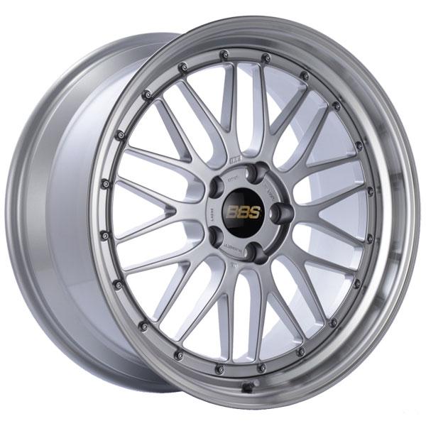 BBS LM230DSPK | LM 20x9.5 5x120 ET37 Diamond Silver Center Diamond Cut Lip Wheel -82mm PFS/Clip Required