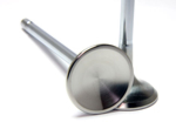 GSC Power Division 2123-8 | GSC P-D 12-13 Subaru/Scion BRZ/FR-S Chrome Polished Exhaust Valve - 30mm Head (+1mm) - SET 8