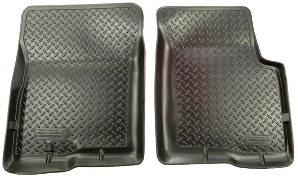 Husky Liners 31001 | Classic Style Series Front Floor Liners Chevrolet K30; 1980-1986