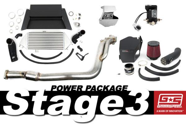 GrimmSpeed 191009 | Grimmspeed Stage 3 Power Package - 05-09 Subaru Legacy GT; 2005-2009