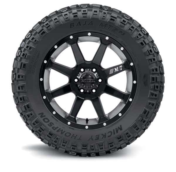 Mickey Thompson 90000024276 | Baja MTZP3 Tire - 37X13.50R18LT 124Q 59873