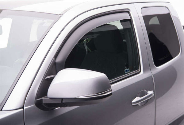 EGR 575085wb | 16-17 Toyota Tacoma In-Channel Window Visors - Matte (575085); 2016-2017
