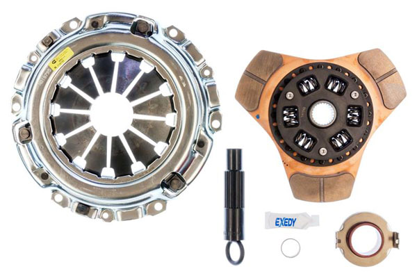 Exedy Racing (08905) Exedy Stage 2 Cerametallic Clutch Kit ACURA RSX L4 2 2002-2006; 6Spd Trans.; Thin Disc