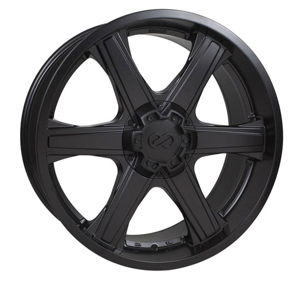 Enkei 503-885-9530bk | BHAWK 18x8.5 6x135 30mm Offset 87mm Bore Black Wheel