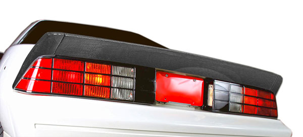 Carbon Creations 106455: 1982-1992 Chevrolet Camaro Carbon Creations Xtreme Wing Trunk Lid Spoiler - 3 Piece