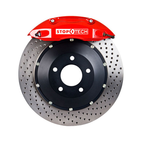 Front Rear Drilled Slotted Rotors Ceramic Pads for 1996-2002 Mercedes-Benz E320