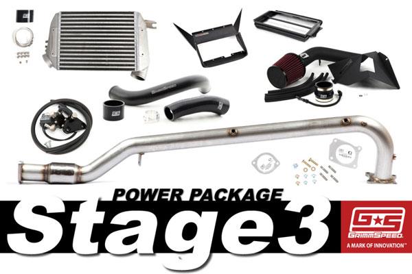 GrimmSpeed 191012 | Grimmspeed Stage 3 Power Package - 15+ Subaru WRX; 2015-2020