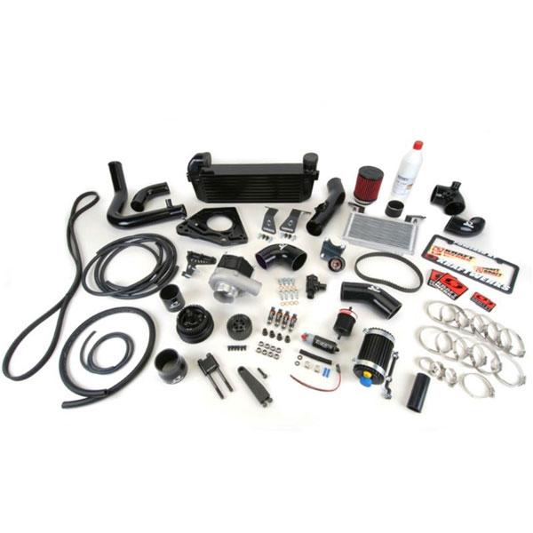 KraftWerks 150-10-0613b | 06-13 Mazda Miata NC 2.0L Supercharger Kit Header & Exhaust - Black Series *No Tune*; 2006-2013