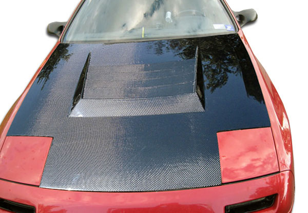 Carbon Creations 104230 | Mazda RX-7 Carbon Creations D-1 Hood 1-Piece; 1986-1991