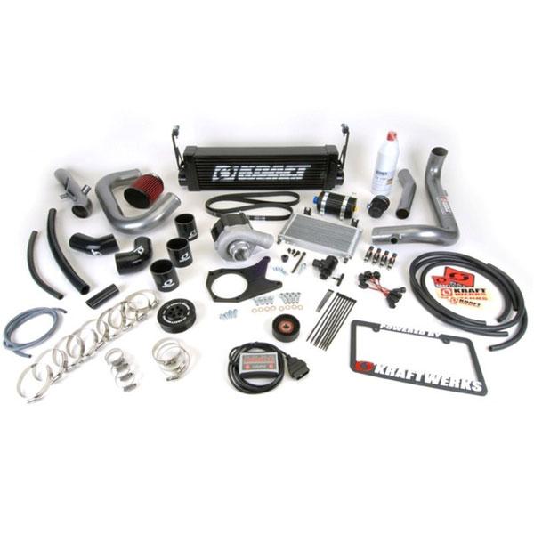 KraftWerks 150-05-1401b | 06-11 Civic Black Series Supercharger Kit w/ FlashPro (R18); 2006-2011