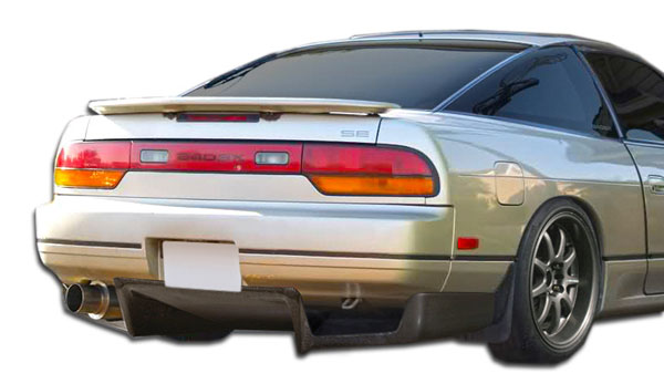 Carbon Creations 106794: 1989-1994 Nissan 240SX HB Carbon Creations Fulvius Rear Diffuser - 3 Piece