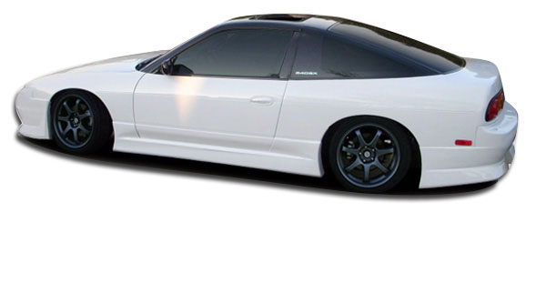 Couture 104820 | Nissan 240SX Couture Hiro Side Skirts Rocker Panels 2-Piece; 1989-1994