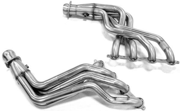 Kooks Headers 2420h430   Kooks 08-09 Pontiac G8 GT GXP 1-7/8 x 3 Header & Green Catted X-Pipe Kit; 2008-2009