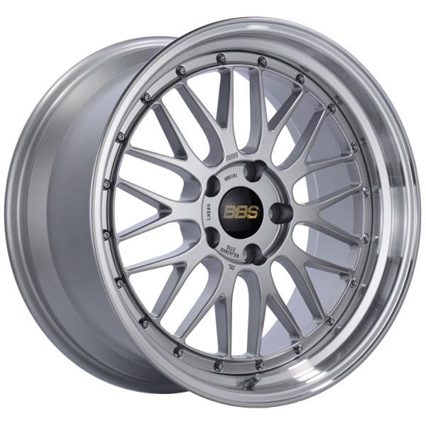 BBS LM280DSPK | LM 19x9.5 5x120 ET32 Diamond Silver Center Diamond Cut Lip Wheel -82mm PFS/Clip Required