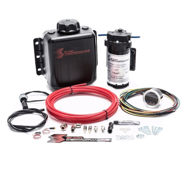 Snow Performance sno-210   Gas Stg. 2 The New Boost Cooler F/I Water Inj. Kit (Incl. 175 & 375 ml/min Nozzles)