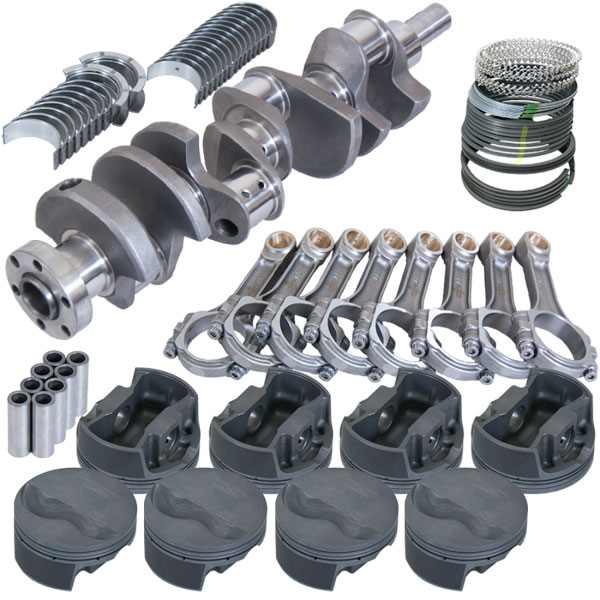 Eagle 16003000 | Ford 302 Rotating Assembly Kit with 5.400in I-Beam - Standard Bore