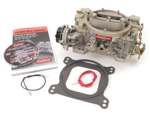 Edelbrock 1409 | Carburetor Marine 4-Barrel 600 CFM Electric Choke
