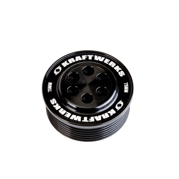 KraftWerks 159-99-7507 | Supercharger Pulley - 75mm 7 Rib