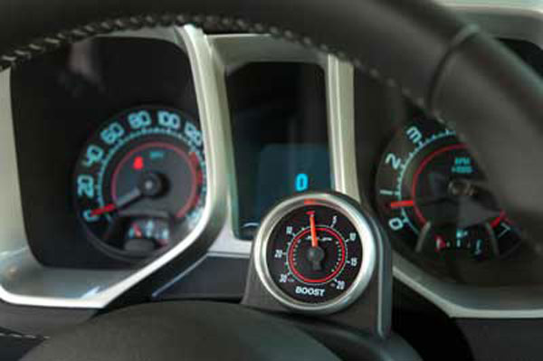SLP Performance 90550A: SLP 2010-12 Camaro V8 w/Gauge Pod Boost Gauge Package use w/SLP Supercharger
