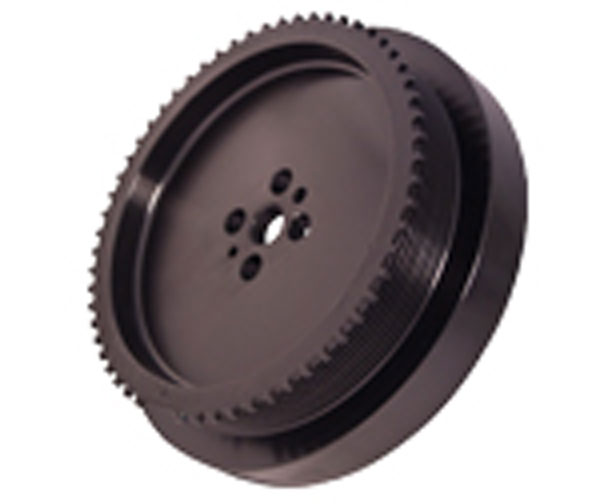 Fluidampr 920321 | Dodge Cummins 6.7L Pulley Internal Balance Black Zinc Finish 9 1/4in Diam lbs; 2007-2009