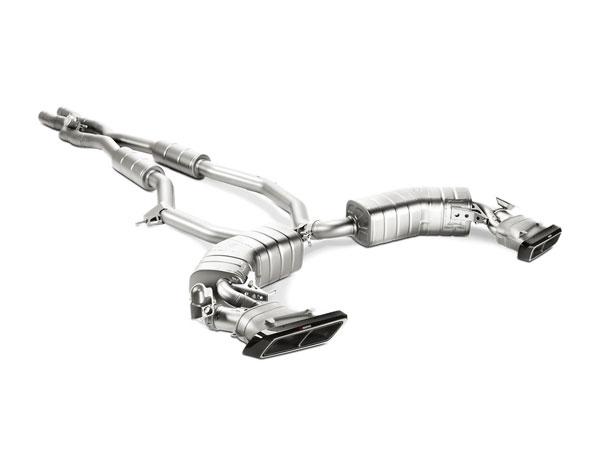Akrapovic MTP-ME/T/1H-L |  Mercedes-AMG S 63 Coupe/Cabriolet (C217/R217) Evolution Line (Titanium) w/ Link Pipe, 2015-2017