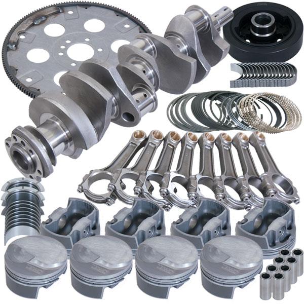 Eagle b18022060 | Chevrolet Big Block 2 Pc Seal Street & Strip Rotating Assembly Kit - 4.25in Stroke 6.385in Rod