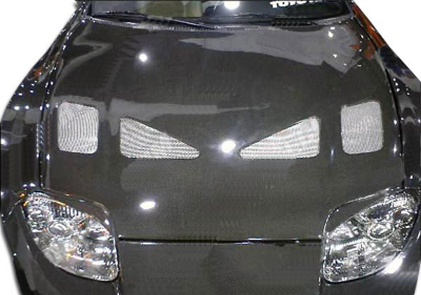 Carbon Creations 102525 | Toyota Supra Carbon Creations TD3000 Hood 1-Piece; 1993-1998
