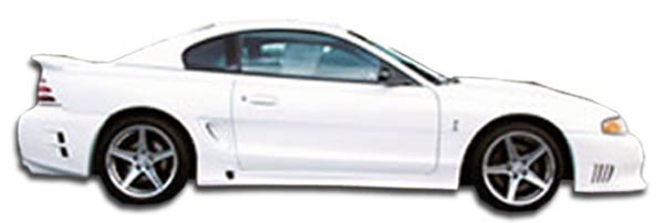 Couture 102540: 1994-1998 Ford Mustang  Colt 2 Side Skirts Rocker Panels - 2 Piece