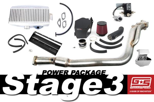 GrimmSpeed 191006 | Grimmspeed Stage 3 Power Package - 08-14 Subaru STI; 2008-2014