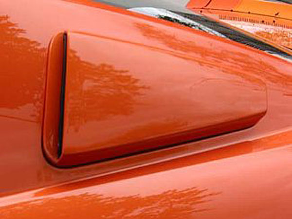 Street Scene 95070738 |  Rear Window Ducts Ford Mustang (pair) V8; 2005-2009
