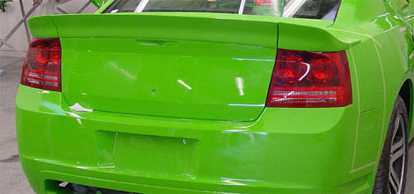 Street Scene (95070934)  Generation 1 Rear Spoiler for 2006-08 Charger