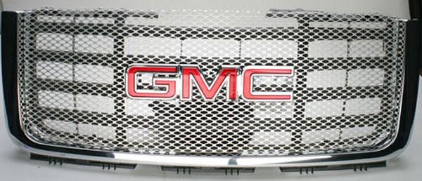 Street Scene 95077188 |  GMC Sierra HD 2007 Main Grille - SATIN finish