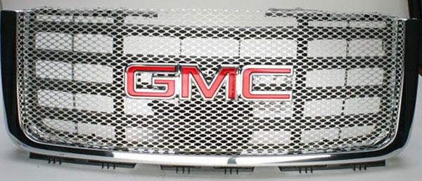 Street Scene 95078188 |  GMC Sierra HD Main Grille - BLACK CHROME finish; 2007-2007