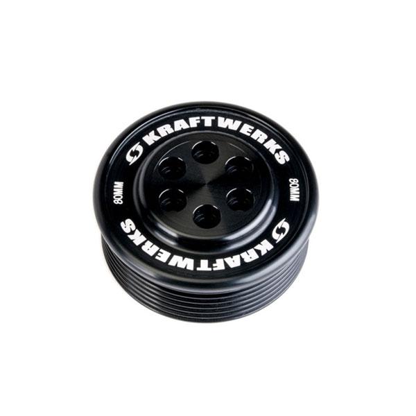 KraftWerks 159-99-8007 | Supercharger Pulley - 80mm 7 Rib