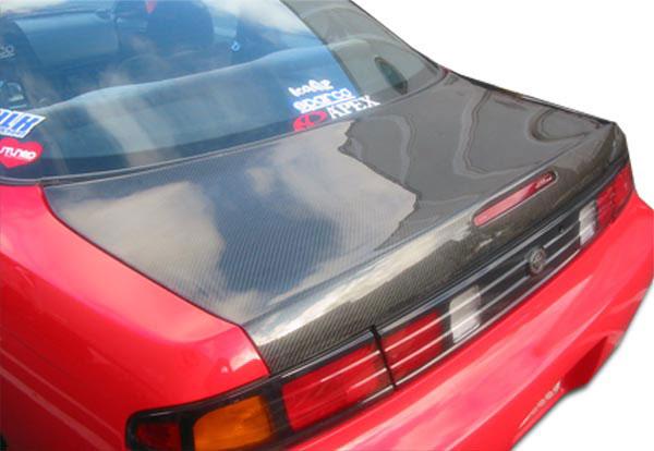Carbon Creations 102874 | 1995-1998 Nissan 240SX Carbon Creations OEM Trunk - 1 Piece