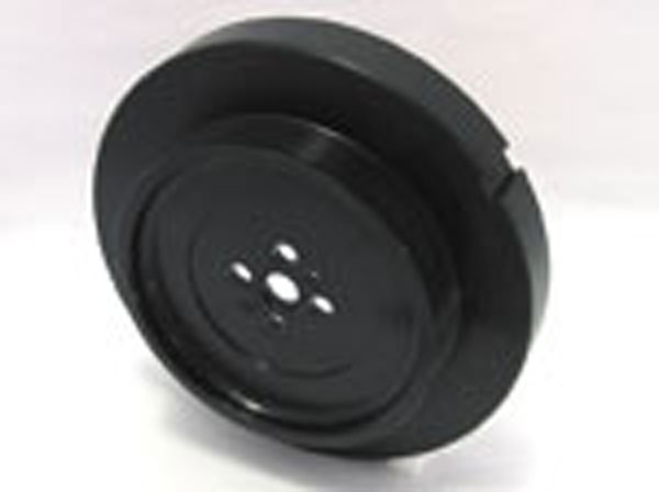 Fluidampr 960311:  Dodge Cummins 5.9L 1992-1998 12V Pulley Internal Balance Black Zinc Finish 9 3/4in Diam 24 lbs